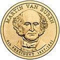 Martin Van Buren Presidential $1 Coin obverse.jpg