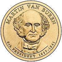 Presidential Dollar of Martin Van Buren