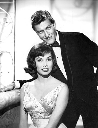 Mary Tyler Moore and Dick Van Dyke from the premiere of The Dick Van Dyke Show, 1961 Mary Tyler Moore Dick Van Dyke Dick Van Dyke Show 1961.jpg