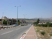 Massadeh main road to north.jpg