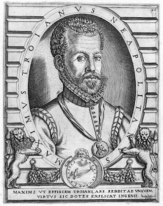 Massimo Troiano - Massimo Troiano by Niccolo Nelli, 1568