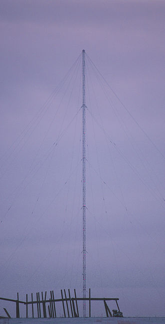 Dudinka - CHAYKA mast in Dudinka