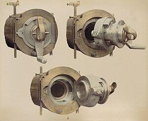Reffye 85 mm cannon - Reffye breech.