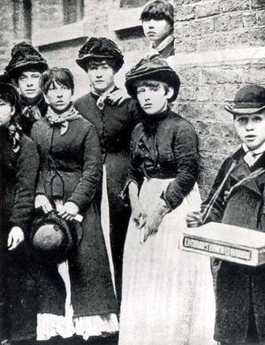 London matchgirls strike of 1888 - Matchgirl strikers