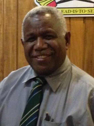 Prime Minister of Solomon Islands - Image: Matt Thistlethwaite Rick Hou 2013 (cropped)