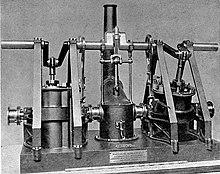 Maudsley oscillating engine