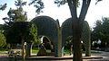 Mausoleum of Kamal al-Molk - Morning - south view - Nishapur 06.JPG