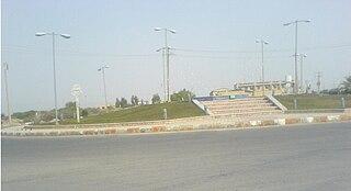 Bord Khun City in Bushehr, Iran