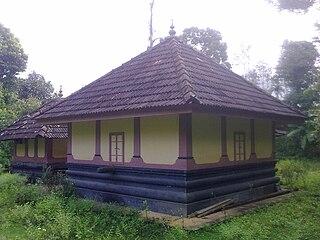 Porunnanore village in Kerala, India