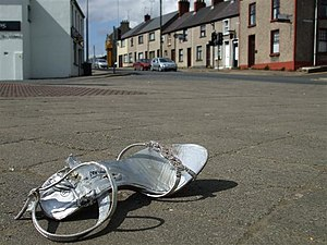 English: McConnell Place, Omagh A modern day C...
