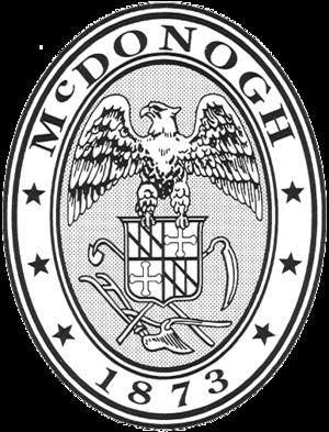 McDonogh School - Image: Mc Donogh School Seal