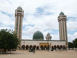 Islam in Senegal - A mosque in Kaolack, Senegal.