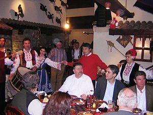 Meyhane - People dancing in a Bulgarian Mehana
