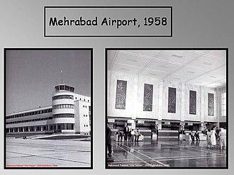 Mehrabad International Airport - Mehrabad Airport in 1958