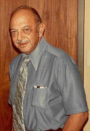Photo of actor Mel Blanc