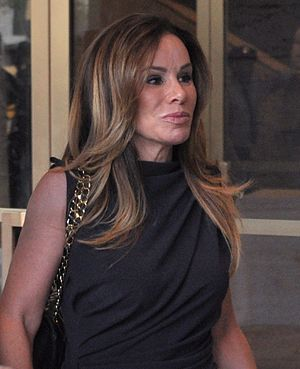 Melissa Rivers - Rivers during New York Fashion Week, 2012