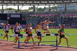 Corrida 3000m Com Obstáculos