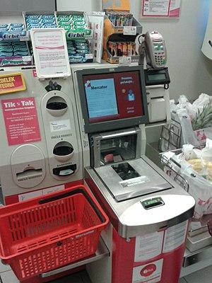 Mercator (retail) - Self-checkout terminal