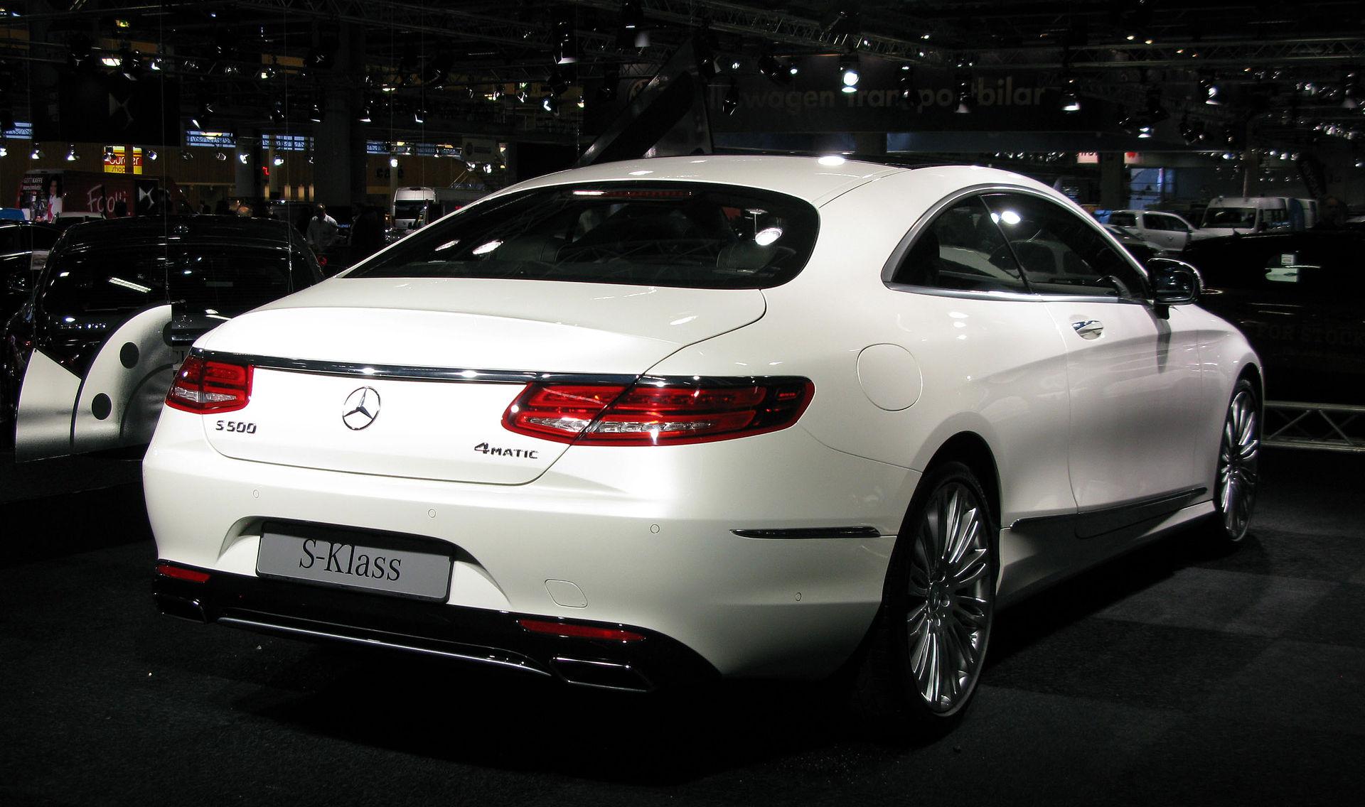 Mercedes-Benz S-Class (C217) - Wikipedia