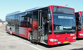Citaro LE als Qbuzz in Groningen.  Bus of the Year 2007