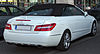 Mercedes E 350 CGI BlueEFFICIENCY Cabriolet (A207) rear 20100524.jpg