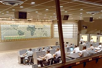 Project Mercury - Inside Control Center at Cape Canaveral (Mercury-Atlas 8)