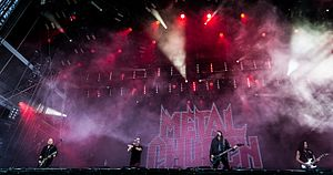 Metal Church - Metal Church performing at Wacken Open Air in 2016