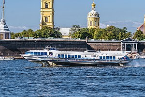 Meteor-197 on Neva River.jpg