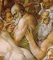 Michelangelo, giudizio universale, dettagli 08.jpg
