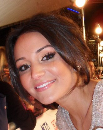 Michelle Keegan - Keegan at the 2012 National Television Awards