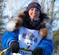 Michelle Phillips - 2013 Iditarod Ceremonial Start.jpg