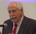 Mike Gravel at The Toronto Hearings on 9-11 (01).png