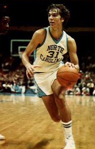 Mike O'Koren - O'Koren playing for UNC in 1977.