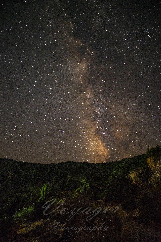 Milky way Samos