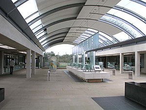 Millennium Seed Bank Partnership - The central visitor hall