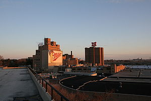 Miller Brewing Company - The Miller Brewery complex in Milwaukee
