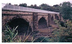 Laigh Milton Viaduct in Ayrshire is the oldest surviving railway bridge in Scotland