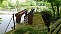 Milton Mill sluice on the River Ayr, South Ayrshire - view towards Stair.jpg