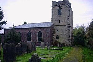 Milwich, Staffordshire - Image: Milwich Church geograph.org.uk 269734
