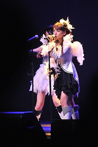 Minami Takahashi - Minami Takahashi performing at the Anime Expo AKB48 live in Los Angeles, 2010