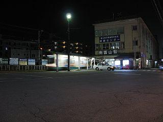 Minami-Toyama Station Railway station in Toyama, Toyama Prefecture, Japan