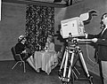 Minister Den Uyl opende Firato 1965 vanuit Den Haag vi TV, Bestanddeelnr 918-1983.jpg