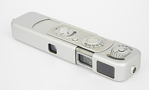 "Minox - Late Production Minox B camera with later style ""honeycomb"" selenium light meter"