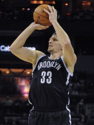 Mirza Teletović - Teletović with the Nets in March 2013