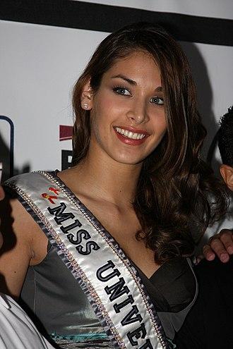 Mestizos in Venezuela - Image: Miss Universe Dayana Mendoza en Nicaragua 11