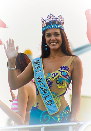 Gibraltarians - Image: Miss World at the Expo in Shanghai