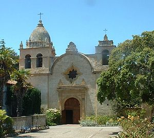 Roman Catholic Diocese of Monterey in California - The Mission Basilica San Carlos Borromeo is the second oldest church in the Diocese of Monterey