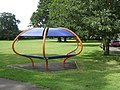 Modern Bench in Headcorn Green - geograph.org.uk - 1420725.jpg