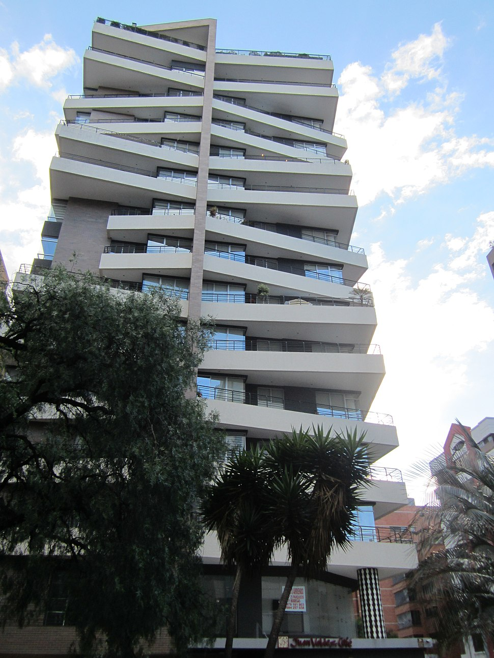 Modern Building in Quito, capital city of Ecuador,.picture..a1,Highrises in Quito