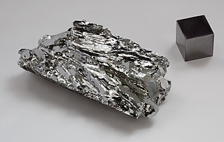 Molybdenum Chemical element with atomic number 42